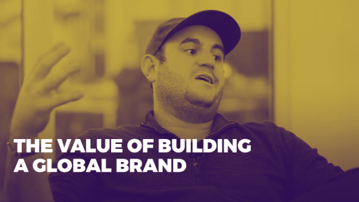 Breaks down how his company generated 80 million followers and 3 billion views per month | The value of building a global brand