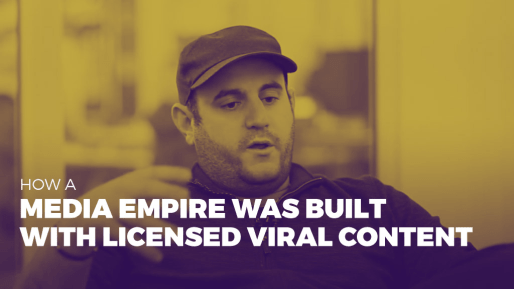 Breaks down how his company generated 80 million followers and 3 billion views per month | How a media empire was built with licensed viral content