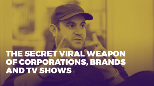Breaks down how his company generated 80 million followers and 3 billion views per month | The secret viral weapon of corporations, brands and TV shows