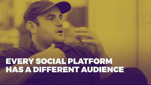 Breaks down how his company generated 80 million followers and 3 billion views per month | Every social platform has a different audience