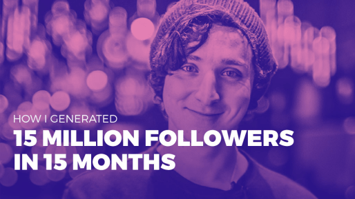 Breaks down how he was able to generate 15 million followers in 15 months organically | How I generated 15 million followers in 15 months (Full Interview)
