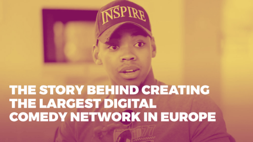 Breaks down the strategies he used to generate 4.3 million followers and 350 million views per month organically | The story behind creating the largest digital comedy network in Europe