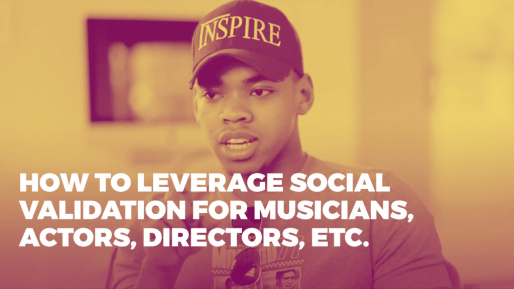 Breaks down the strategies he used to generate 4.3 million followers and 350 million views per month organically | How to leverage social validation for musicians, actors, directors, etc.