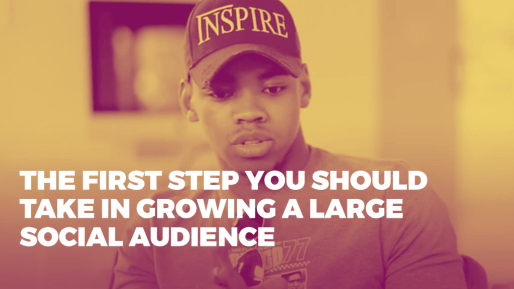 Breaks down the strategies he used to generate 4.3 million followers and 350 million views per month organically | The first step you should take in growing a large social audience