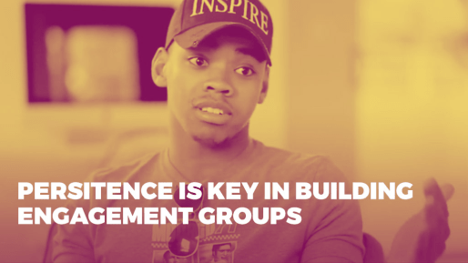 Breaks down the strategies he used to generate 4.3 million followers and 350 million views per month organically | Persitence is key in building engagement groups