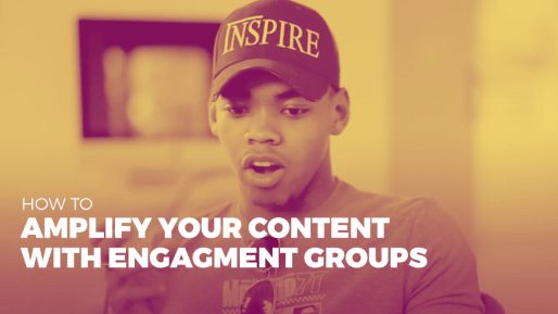 Breaks down the strategies he used to generate 4.3 million followers and 350 million views per month organically | How to amplify your content with engagment groups