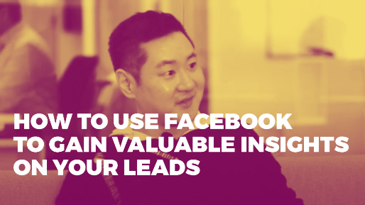 How he built a hundred million dollar ecommerce business | How to use Facebook to gain valuable insights on your leads