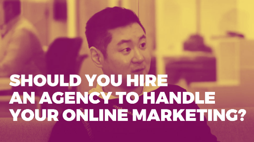 How he built a hundred million dollar ecommerce business | Should you hire an agency to handle your online marketing?