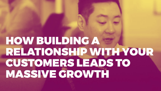 How he built a hundred million dollar ecommerce business | How building a relationship with your customers leads to massive growth