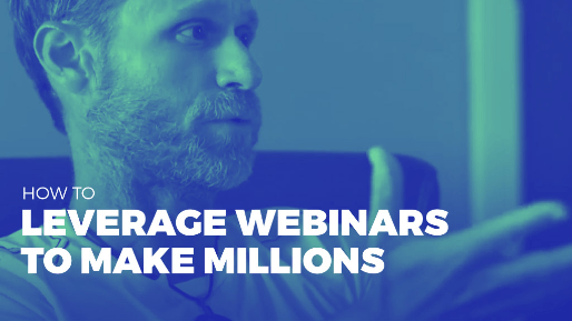 Explains how to leverage joint venture partners to drive millions in sales | How to Leverage Webinars to Make Millions