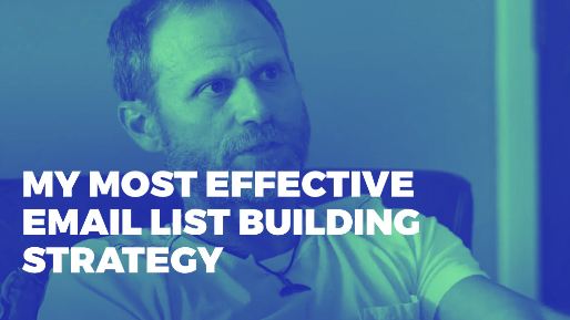 Explains how to leverage joint venture partners to drive millions in sales | My most effective email list building strategy