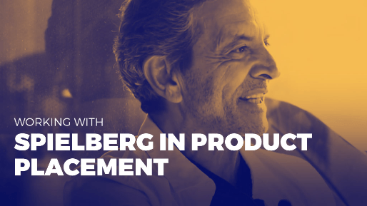 The history of product placement and how to build successful relationships with influencers | Working with Spielberg in product placement