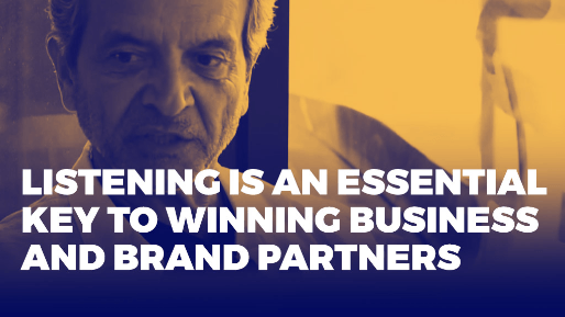 The history of product placement and how to build successful relationships with influencers | Listening is an essential key to winning business and brand partners