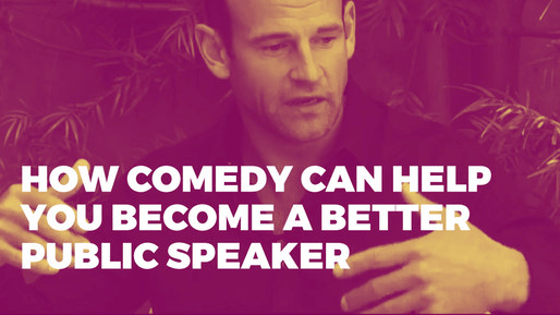 Breaks down how to use comedy to be a better public speaker | How comedy can help you become a better public speaker