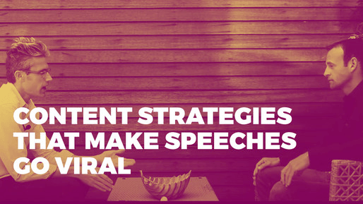 Breaks down how to use comedy to be a better public speaker | Content strategies that make speeches go viral