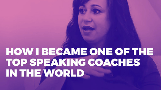 Explains how to leverage public speaking to boost your career | How I became one of the top speaking coaches in the world