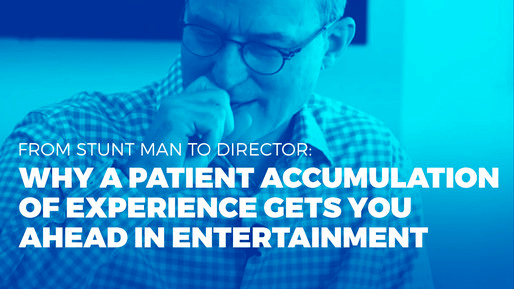Producer of over 80 films breaks down the ins and outs of the film industry | From stuntman to director: Why a patient accumulation of experience gets you ahead in entertainment