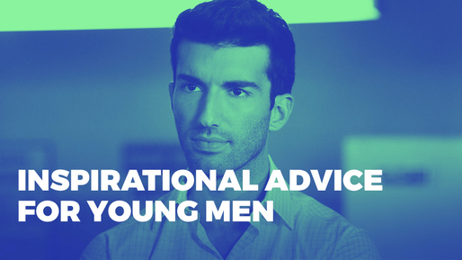 Justin Baldoni shares the keys to happiness | Inspirational advice for young men